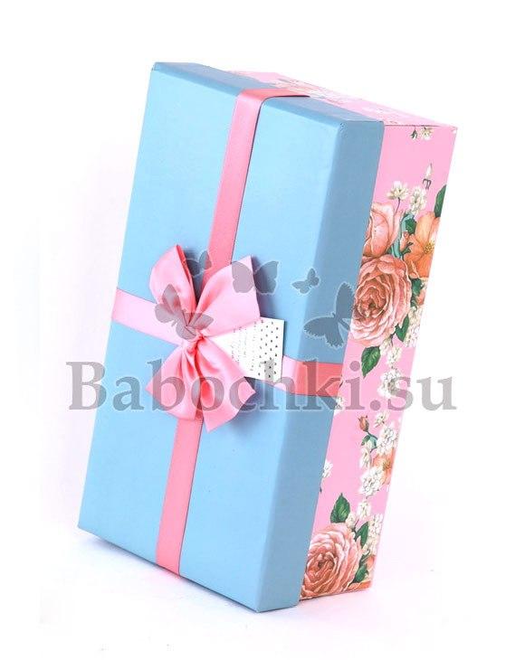 Коробка с бабочками в подарок спб